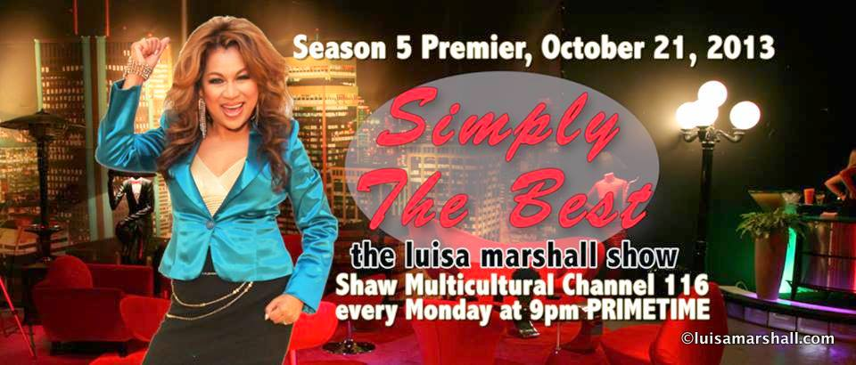 Simply the Best - The Luisa Marshall Show Episode Guide